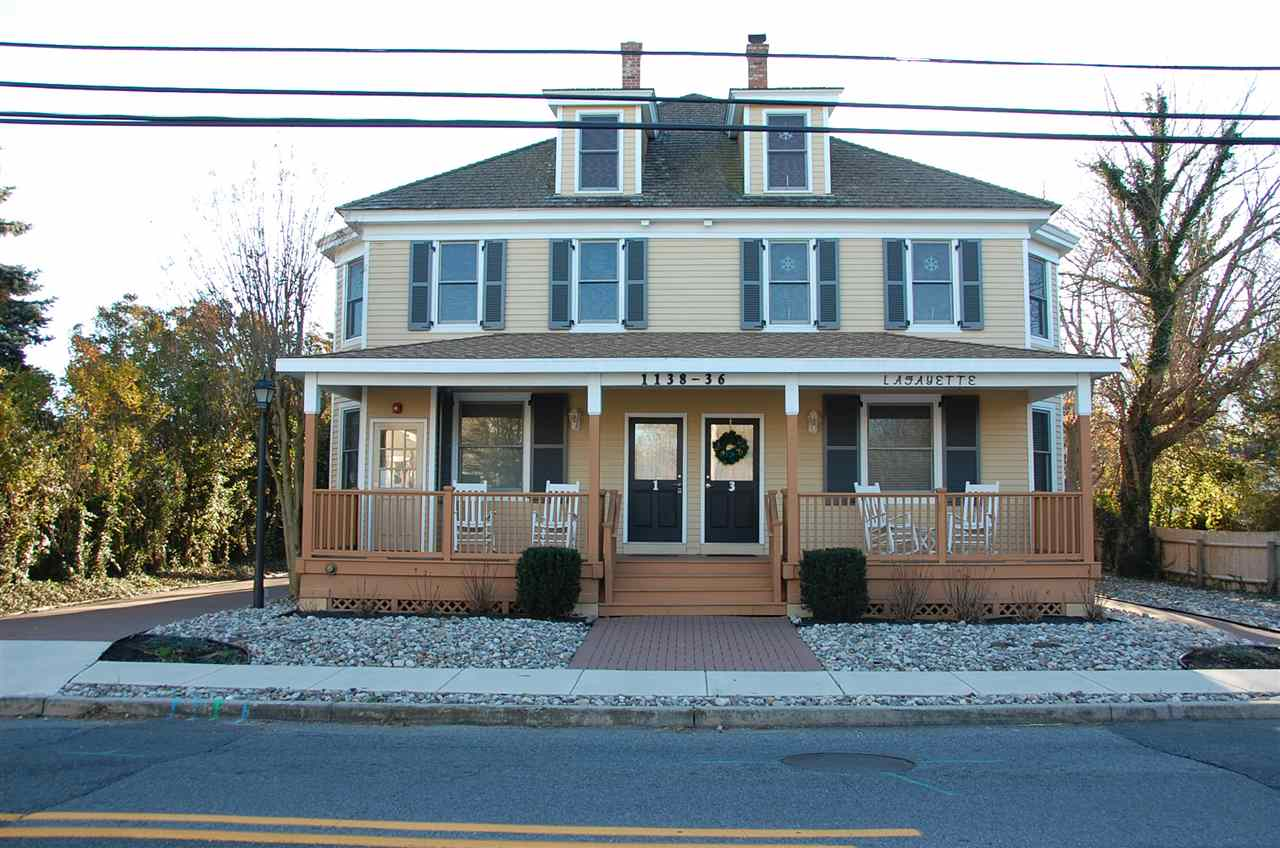 Condo / Townhouse for Sale at 1138 Lafayette Unit 1 Street 1138 Lafayette Unit 1 Street Cape May, New Jersey 08204 United States