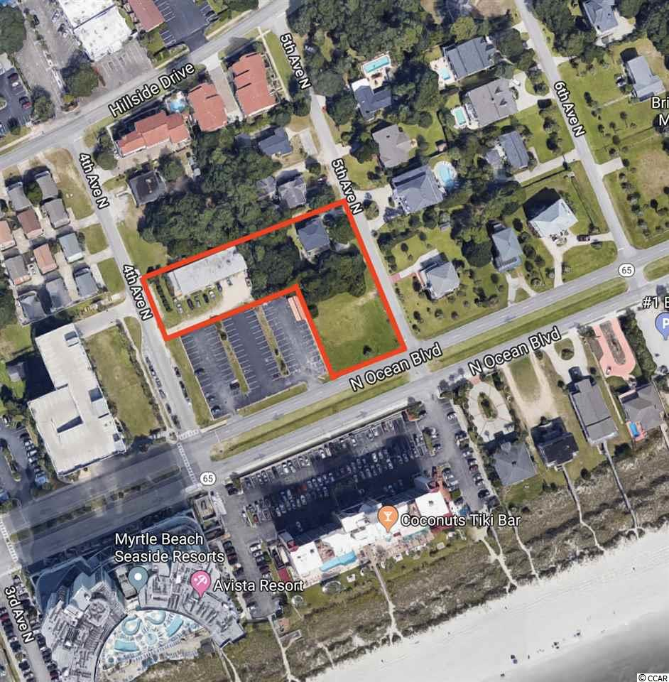 土地,用地 为 销售 在 3 LOTS N 4TH & 5TH Avenue 3 LOTS N 4TH & 5TH Avenue North Myrtle Beach, 南卡罗来纳州 29582 美国