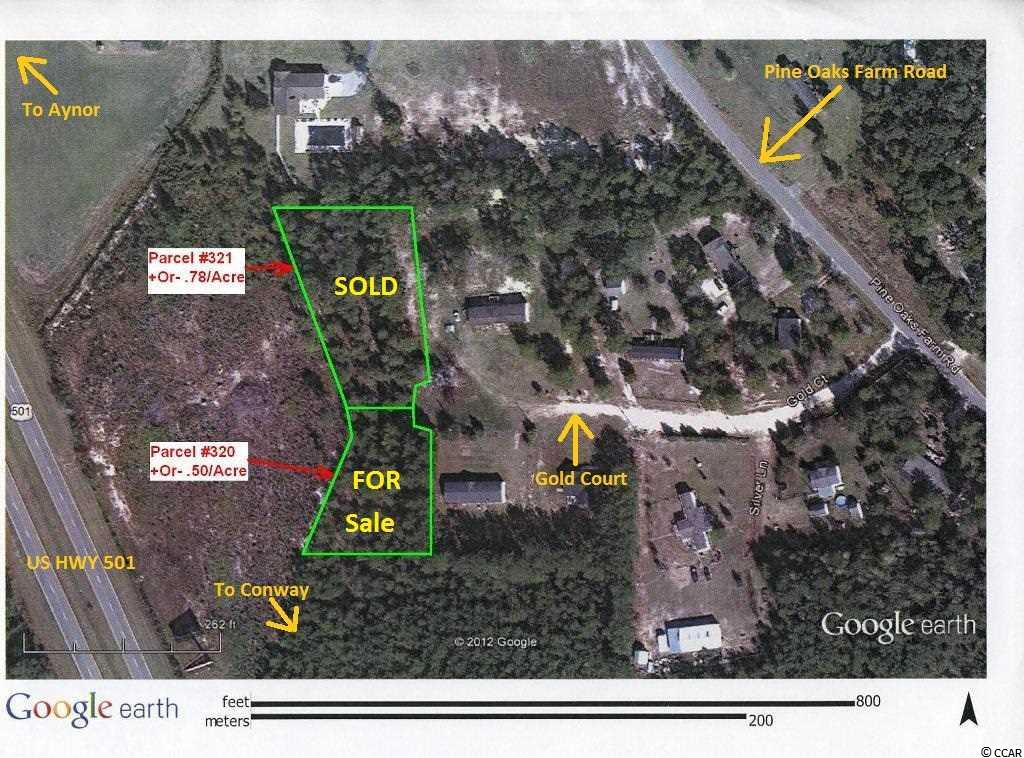 Land for Sale at Gold Court S Pine Oaks Farm Road Gold Court S Pine Oaks Farm Road Aynor, South Carolina 29511 United States