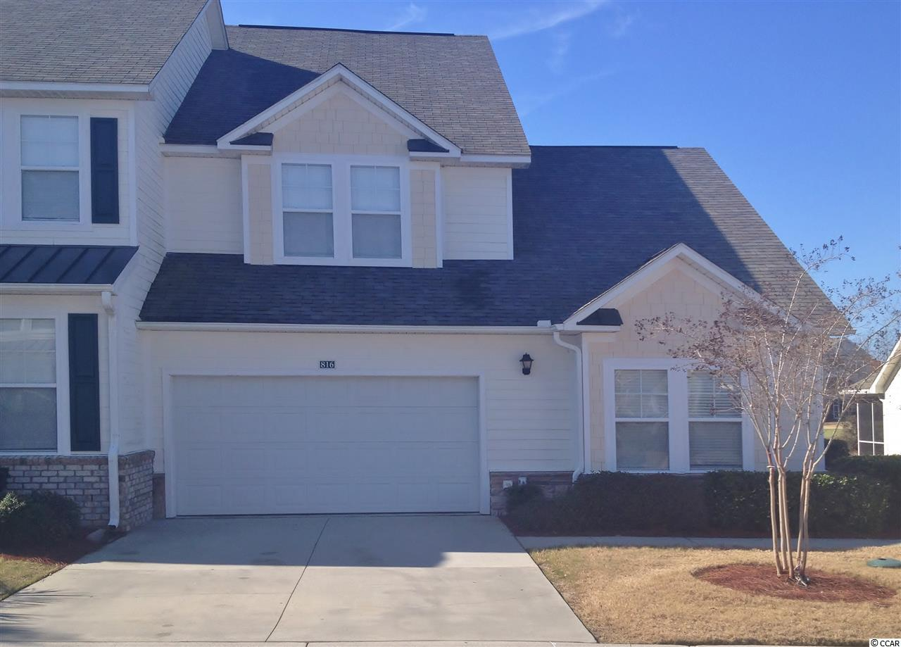 Townhouse MLS:1601213 TANGLEWOOD AT BAREFOOT RE  6095 Catalina North Myrtle Beach SC