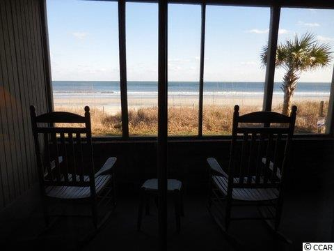 Screened porch - Oceanfront  condo now for sale