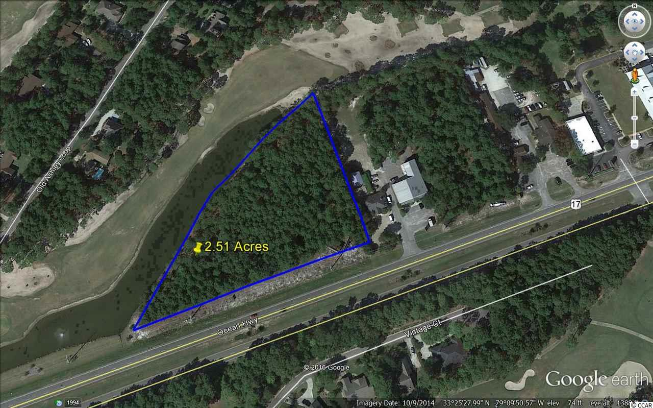 Land for Sale at 2321 Ocean Highway South 2321 Ocean Highway South Pawleys Island, South Carolina 29585 United States