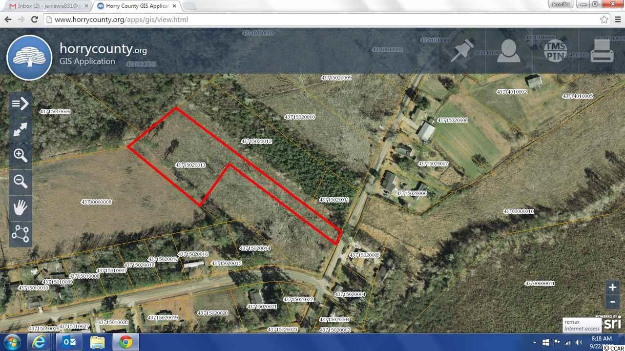 Land for Sale at TBD Railroad Drive TBD Railroad Drive Conway, South Carolina 29527 United States