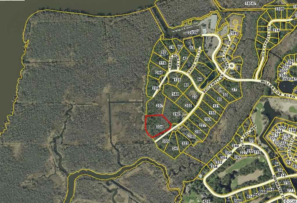 Land for Sale at Lot 13 Brickwell Lane Lot 13 Brickwell Lane Pawleys Island, South Carolina 29585 United States