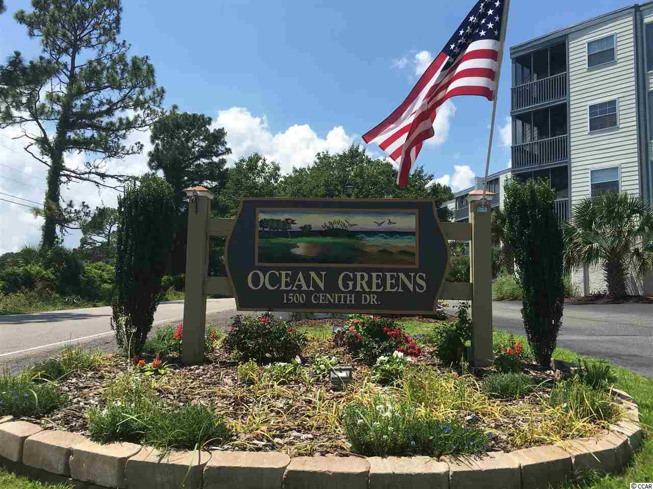 CONDO MLS:1611795 OCEAN GREENS  1500 Cenith Dr North Myrtle Beach SC