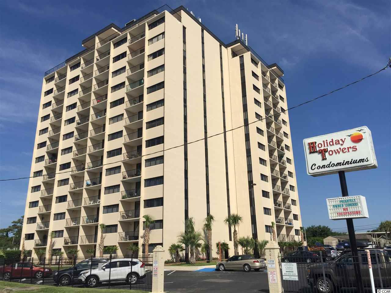 CONDO MLS:1612755 Holiday Tower  601 Mitchell Drive Myrtle Beach SC