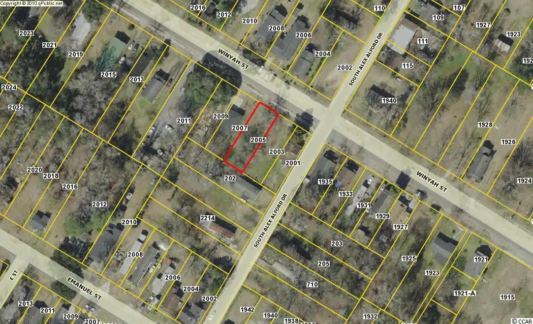 Land for Sale at 2005 Winyah Street 2005 Winyah Street Georgetown, South Carolina 29440 United States