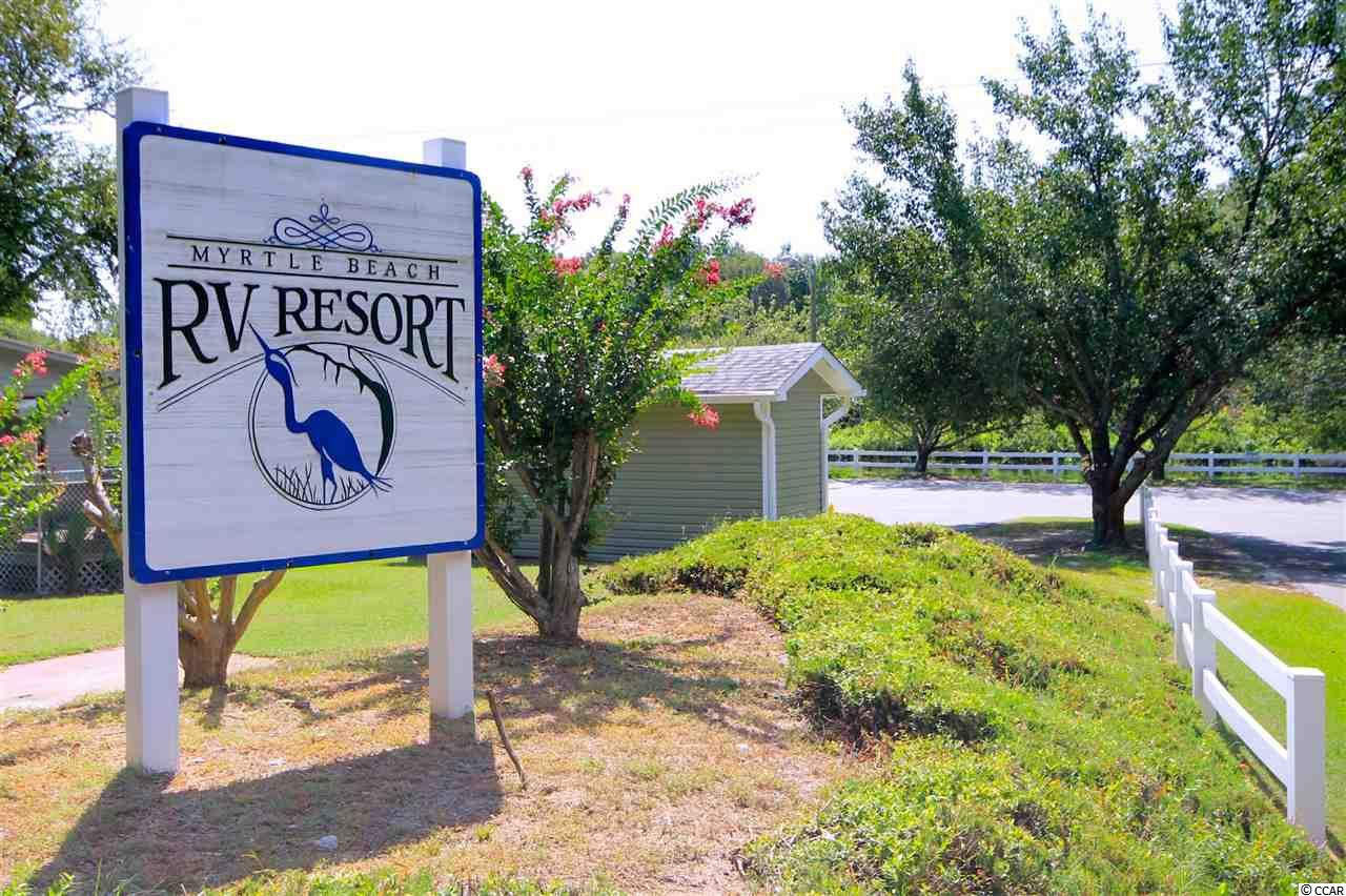 house at  Myrtle Beach RV Resort for $85,000