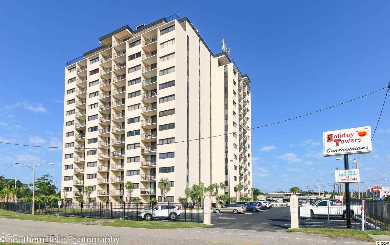 CONDO MLS:1618380 Holiday Tower  601 Mitchell Drive Myrtle Beach SC
