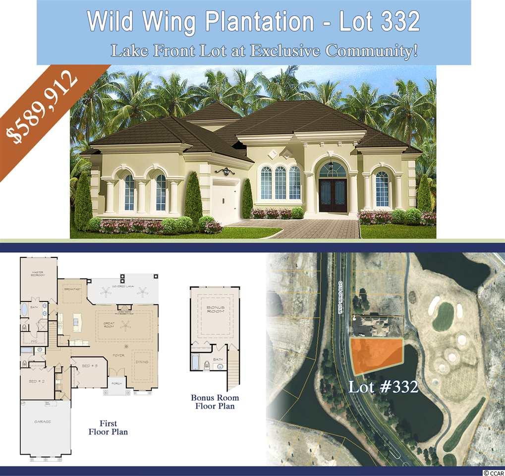 Wild Wing Plantation house for sale in Conway, SC