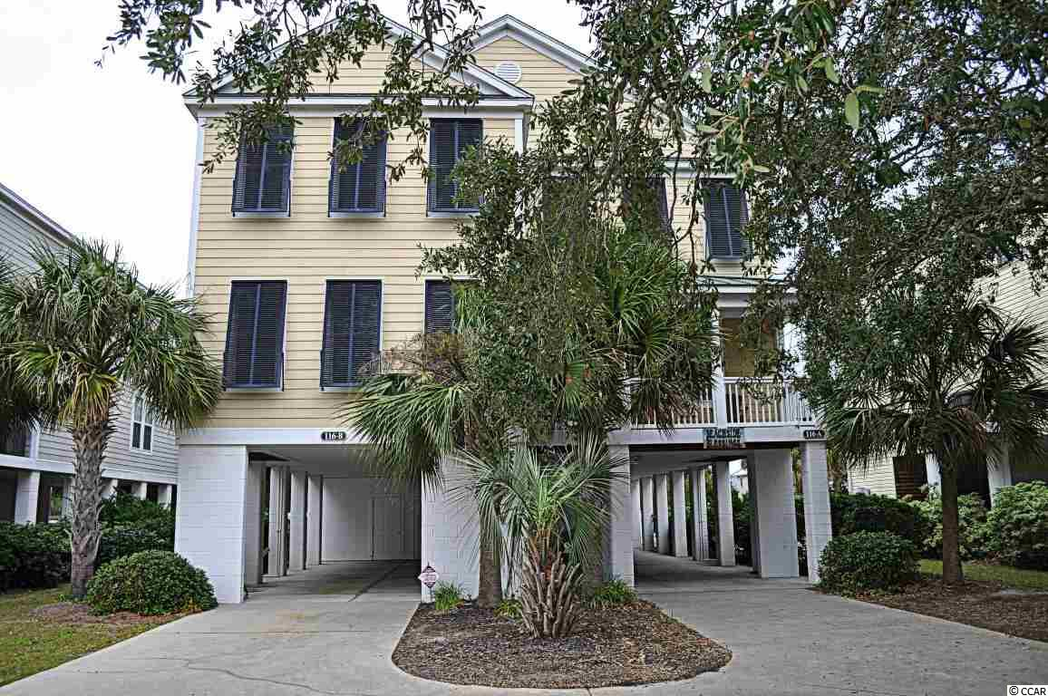 Semi-Detached MLS:1621913   116 A Woodland Drive Garden City Beach SC