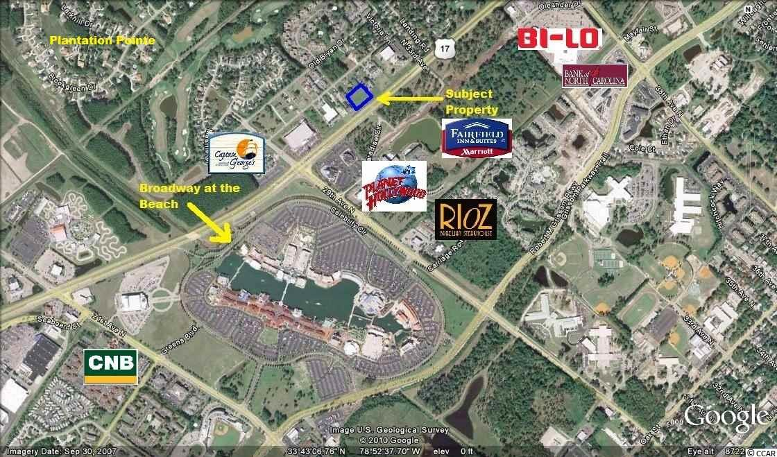 Land for Sale at TBD Hwy 17 Bypass TBD Hwy 17 Bypass Myrtle Beach, South Carolina 29577 United States