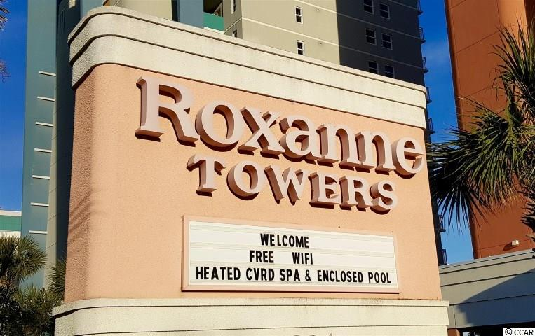 Another property at   Roxanne Towers offered by Myrtle Beach real estate agent