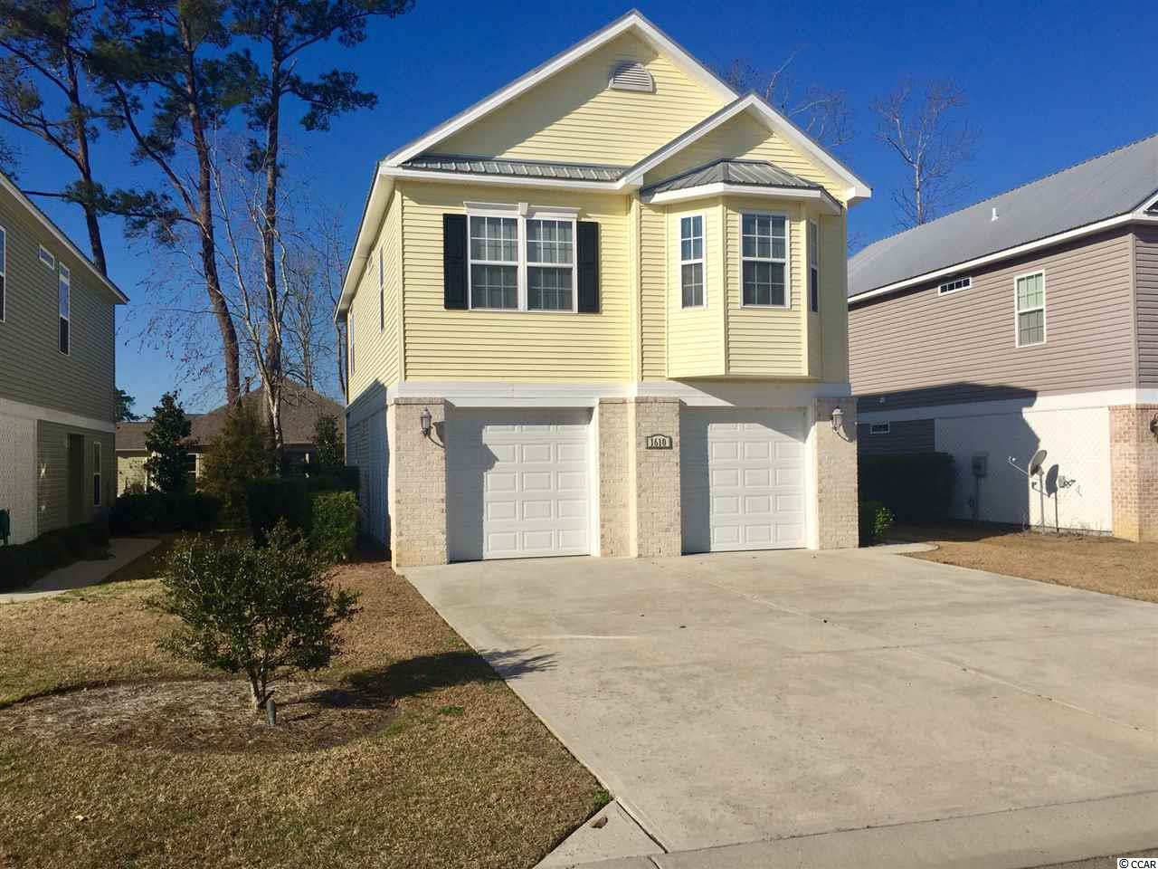 DETACHED WITH HPR MLS:1704056   1610 Cottage Cove Circle North Myrtle Beach SC