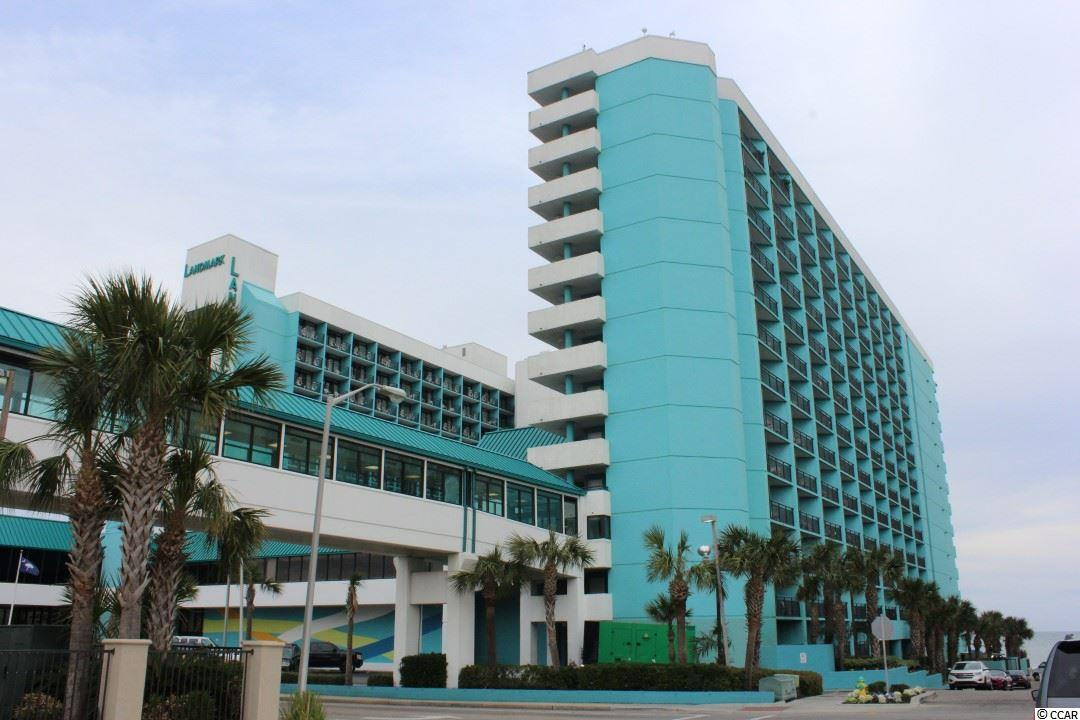Ocean Front Condo in Landmark Resort : Myrtle Beach South Carolina