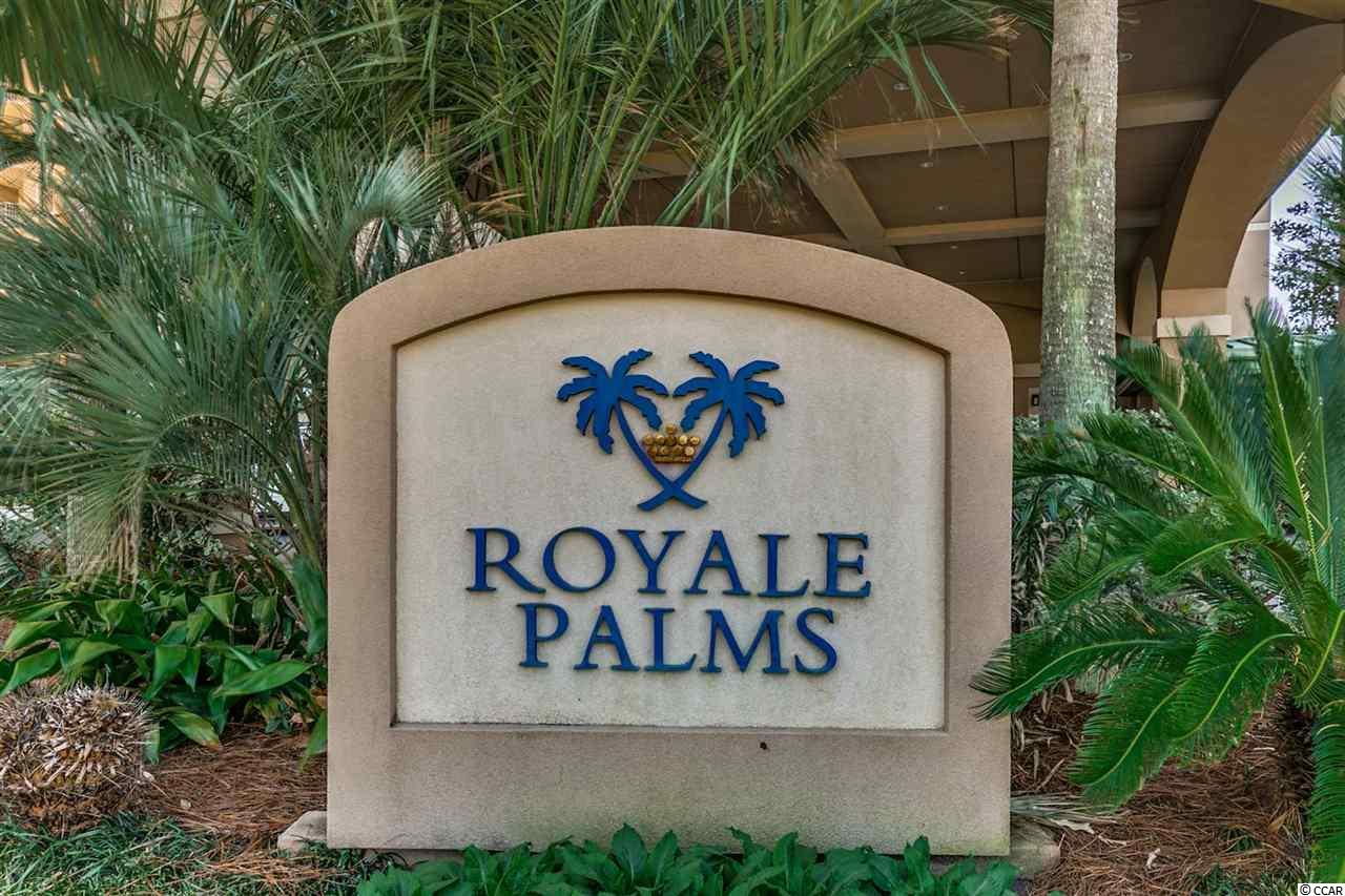 Interested in this  condo for $373,900 at  Royale Palms is currently for sale