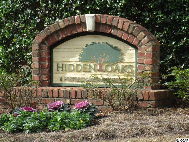 Check out this 2 bedroom condo at  Hidden Oaks - Pawleys Island