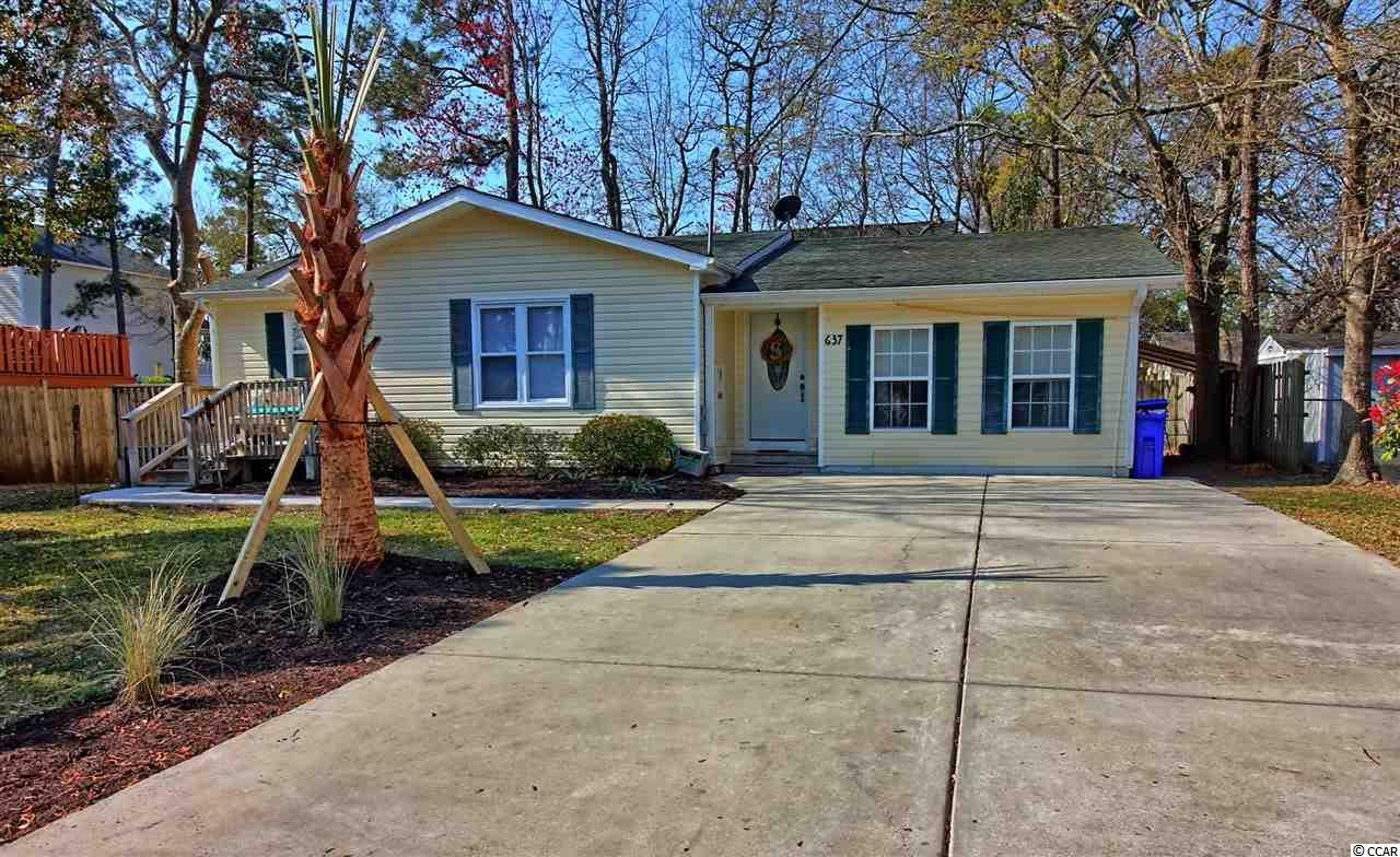 Detached MLS:1707137   637 16th Ave South Surfside Beach SC