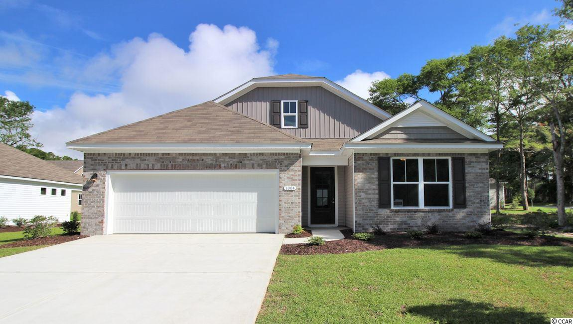 Detached MLS:1709612   1004 Oak Marsh Lane North Myrtle Beach SC