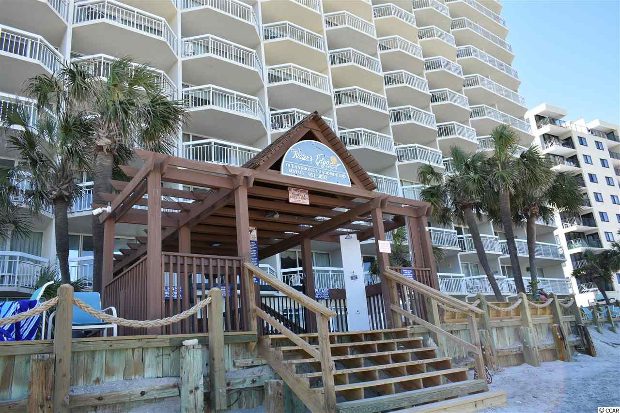 This 1 bedroom condo at  Waters Edge is currently for sale