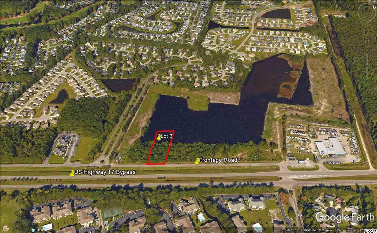 Land for Sale at Lot 3 US 17 Bypass Frontage Road Lot 3 US 17 Bypass Frontage Road Murrells Inlet, South Carolina 29576 United States