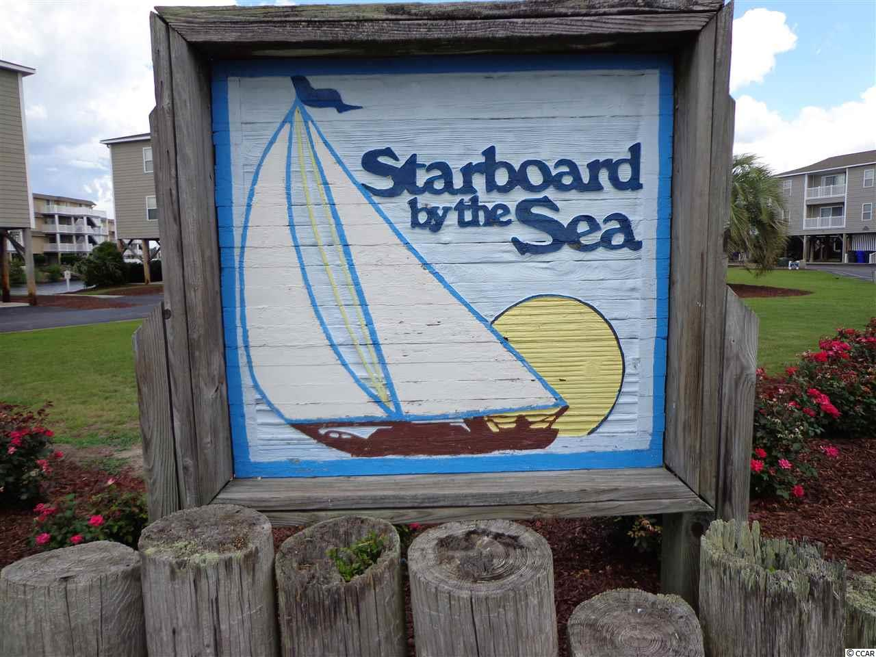 This 1 bedroom condo at  Starboard by the Sea is currently for sale