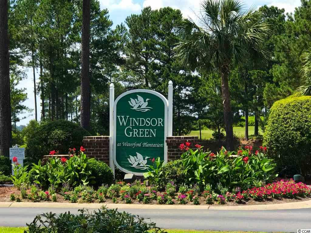 Another property at  WINDSOR GREEN offered by Myrtle Beach real estate agent