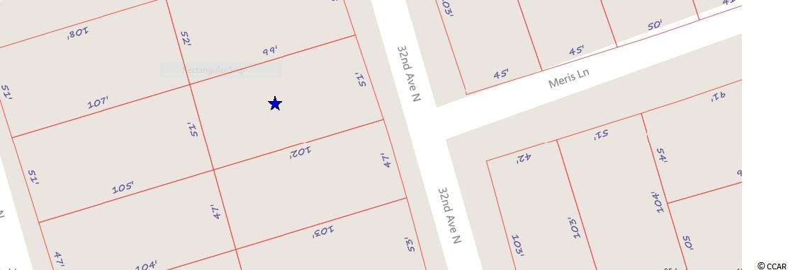 Land for Sale at 309 32nd Avenue, North 309 32nd Avenue, North Cherry Grove, South Carolina 29582 United States