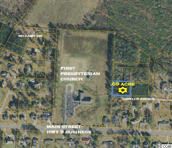 Land for Sale at Lots 8 and 9 Dinkler Avenue Lots 8 and 9 Dinkler Avenue Loris, South Carolina 29569 United States
