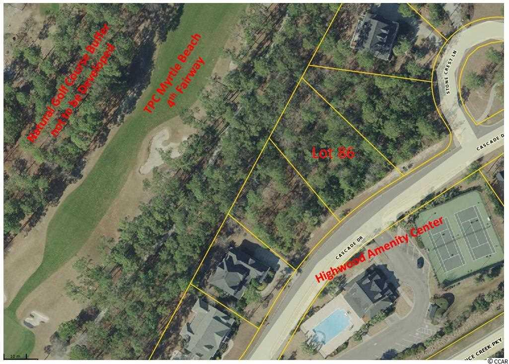 Land for Sale at Lot 86 Cascade Drive Lot 86 Cascade Drive Murrells Inlet, South Carolina 29576 United States