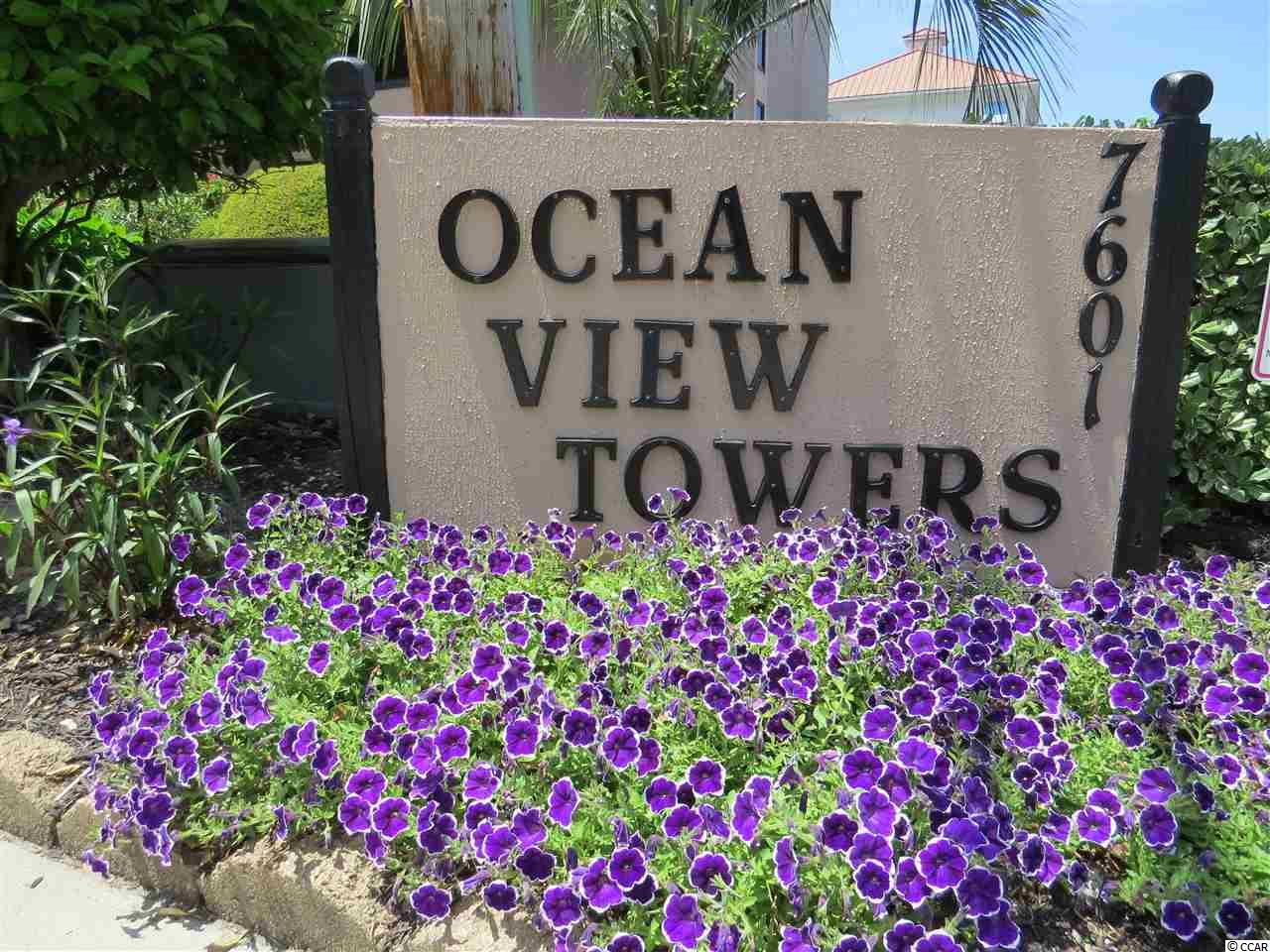 Real estate listing at  Ocean View South Tower with a price of $129,000
