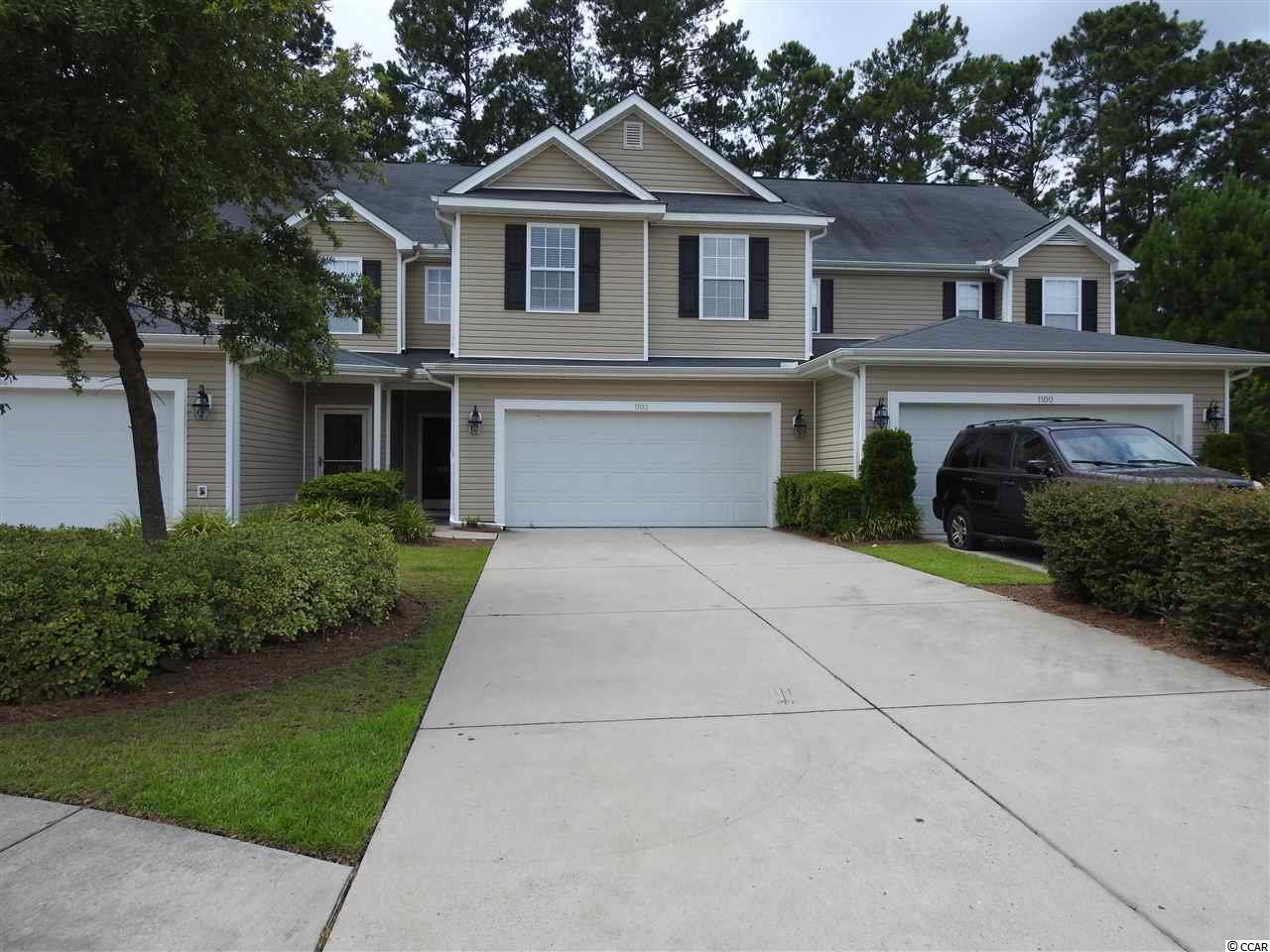 Townhouse MLS:1716761 Fairways at Wild Wing  1102 Fairway Lane Conway SC