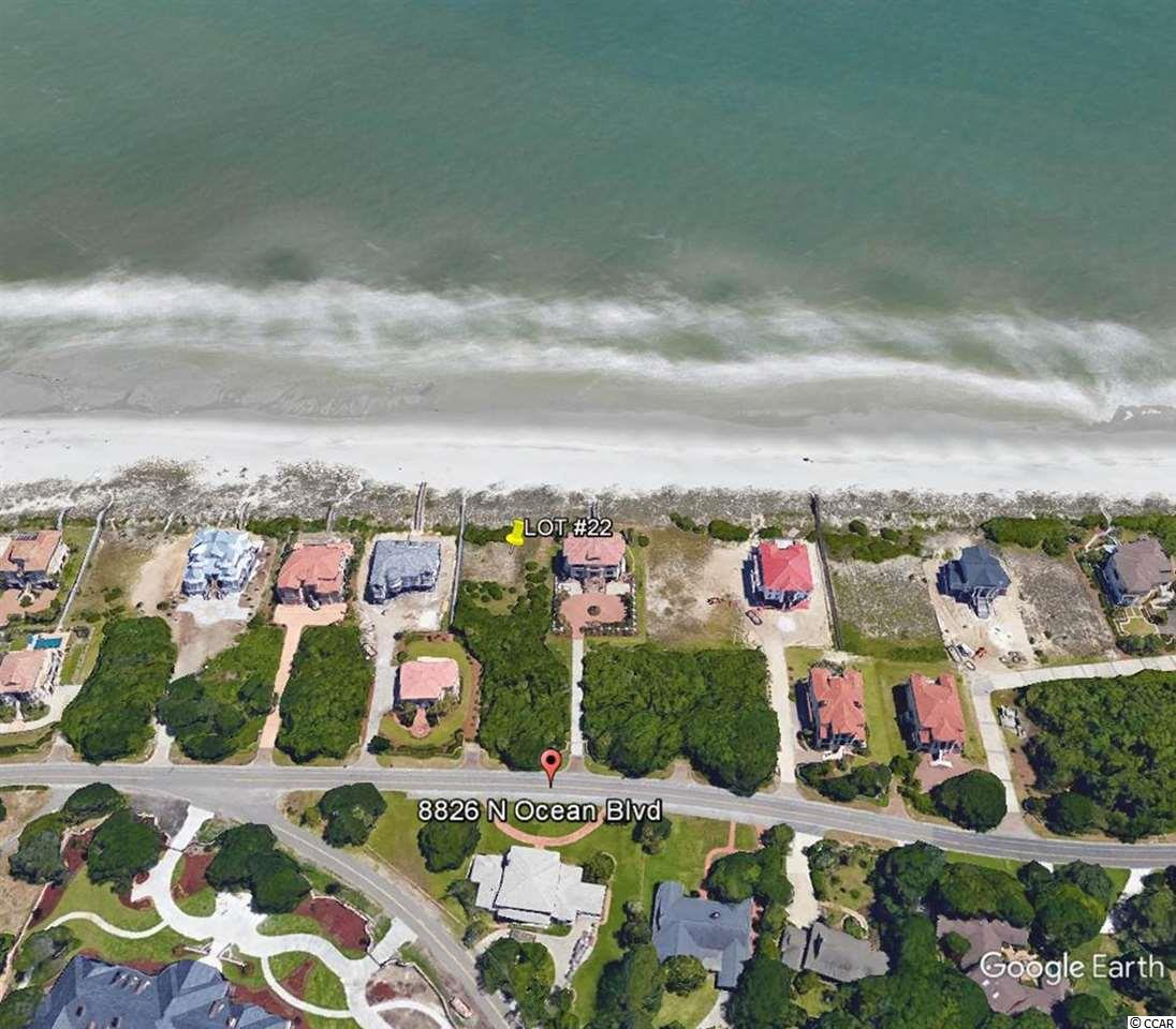 Land for Sale at 8904 N Ocean Blvd 8904 N Ocean Blvd Myrtle Beach, South Carolina 29572 United States
