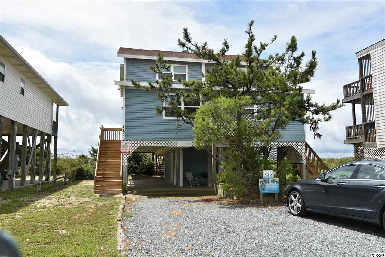 Single Family Home for Sale at 423 Ocean Blvd West 423 Ocean Blvd West Holden Beach, North Carolina 28462 United States