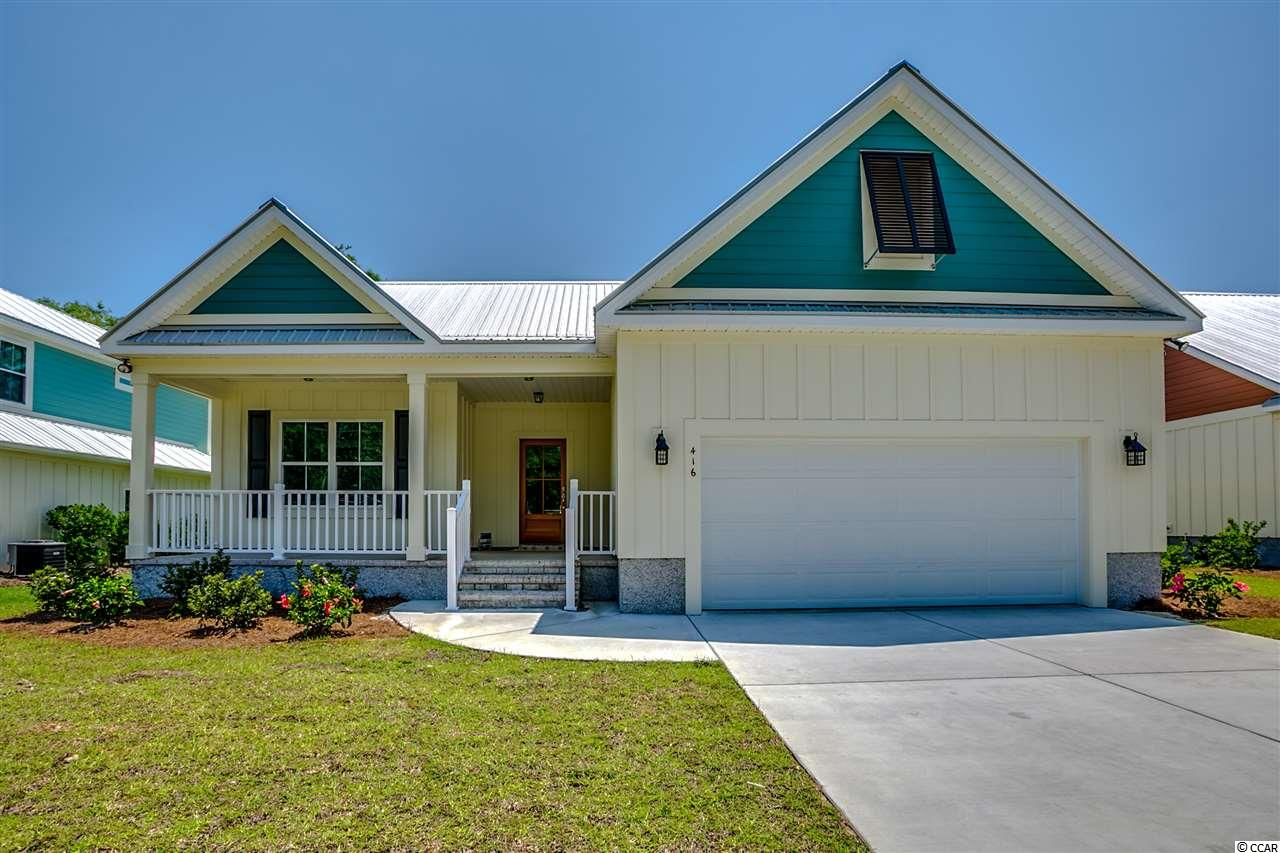 Single Family Home for Sale at 416 Minnow Drive 416 Minnow Drive Pawleys Island, South Carolina 29585 United States