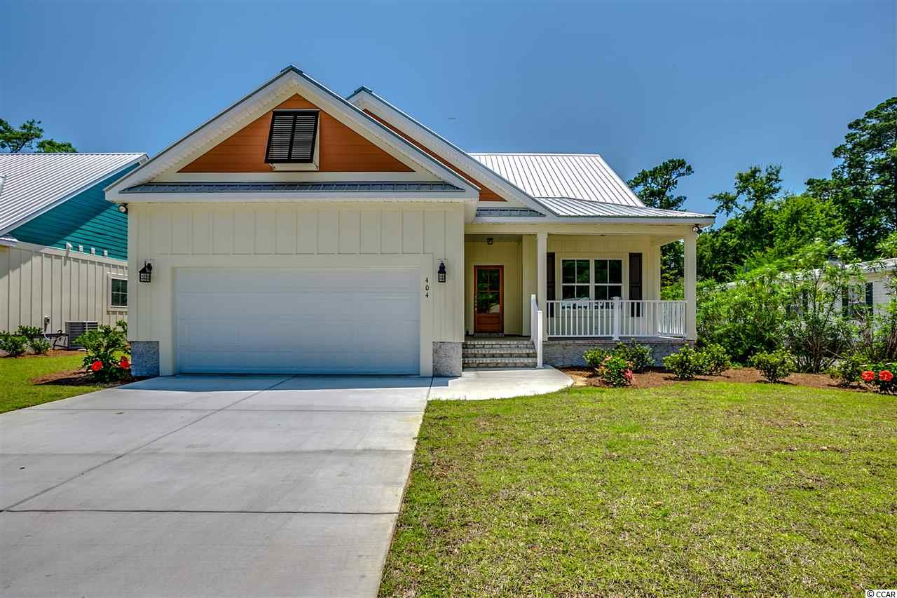 Single Family Home for Sale at 404 Minnow Drive 404 Minnow Drive Pawleys Island, South Carolina 29585 United States