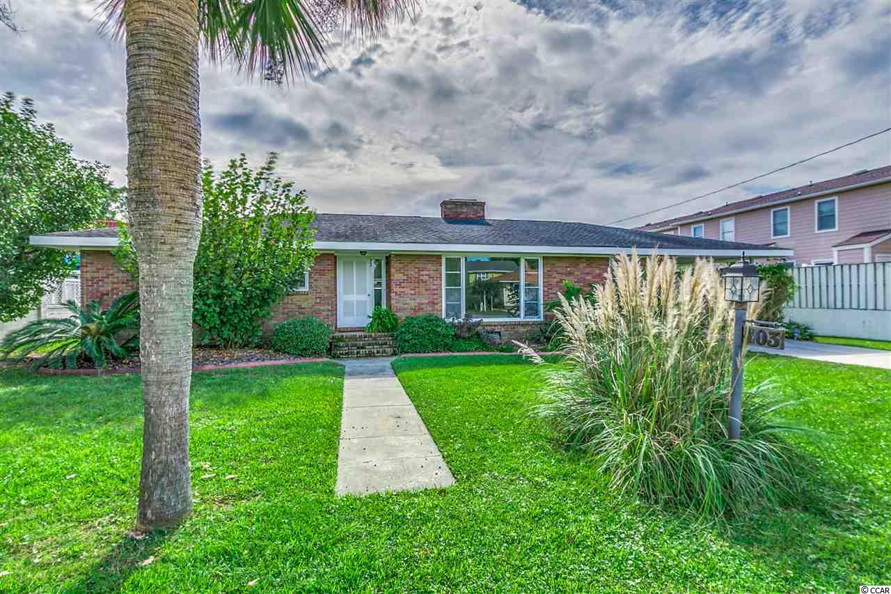 Single Family Home for Sale at 403 13th Avenue South 403 13th Avenue South Myrtle Beach, South Carolina 29577 United States