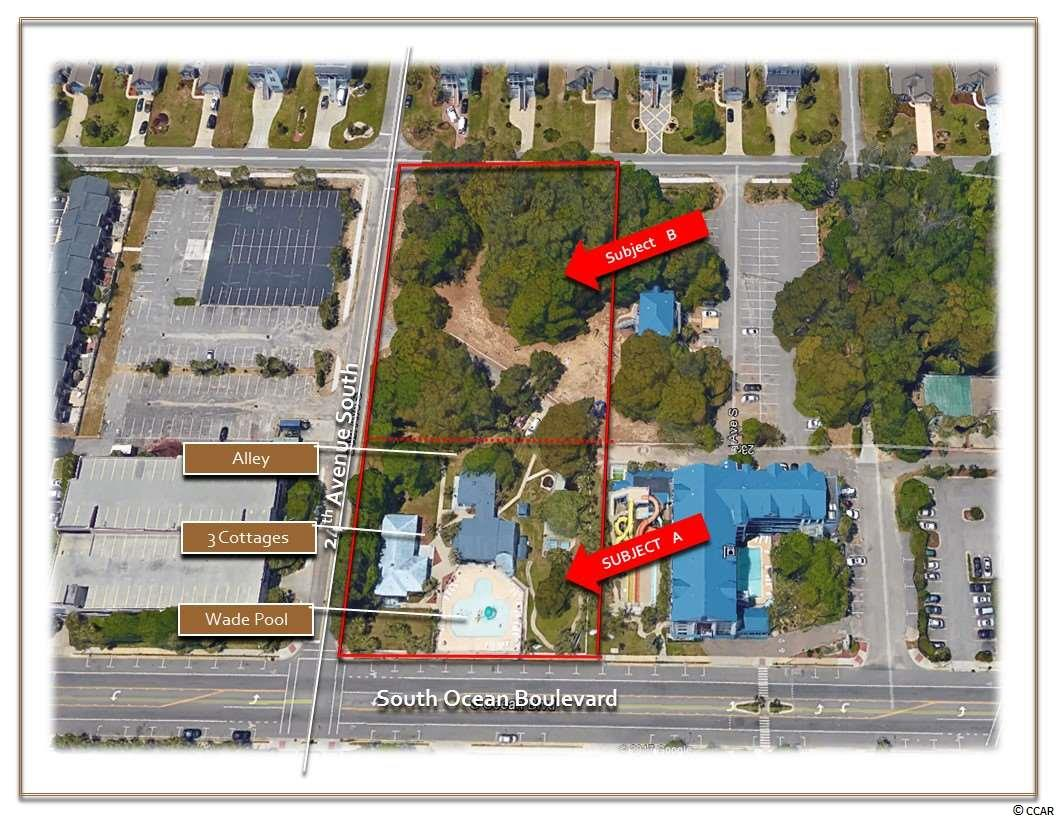 Land for Sale at 2308-2310 S Ocean Boulevard 2308-2310 S Ocean Boulevard Myrtle Beach, South Carolina 29577 United States