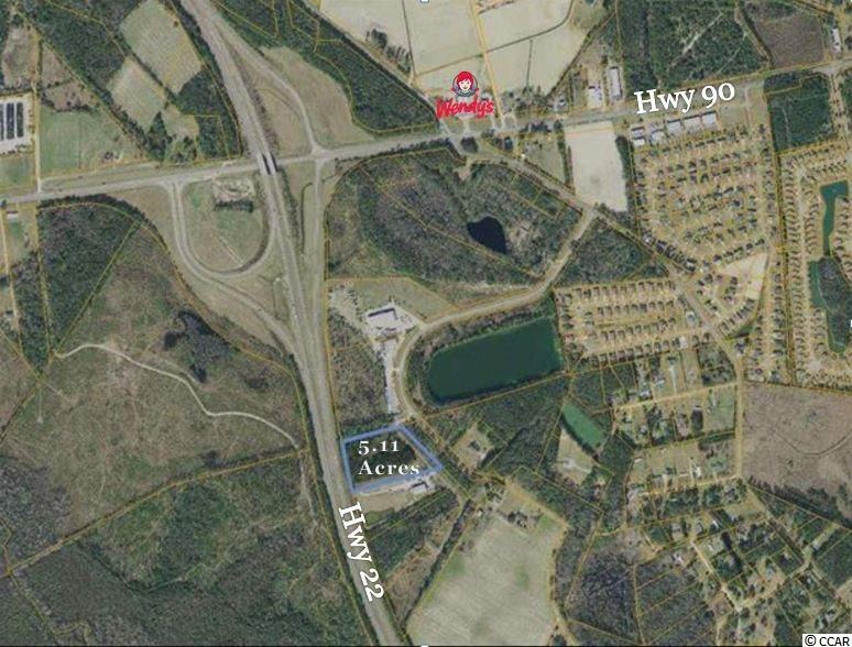 Land for Sale at TBD 5.11 Acres off Hwy 22 & Chestnut Road TBD 5.11 Acres off Hwy 22 & Chestnut Road Longs, South Carolina 29568 United States