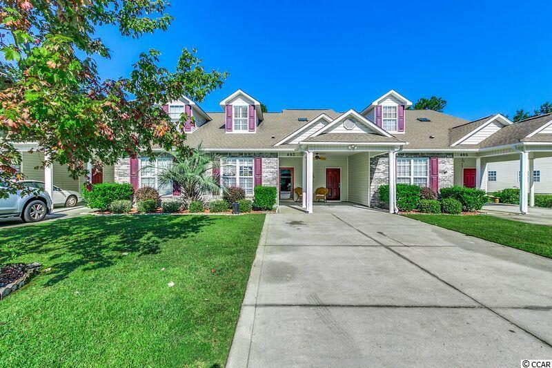 Townhouse MLS:1720756 Colonial Trace  493 Colonial Trace Dr. Longs SC