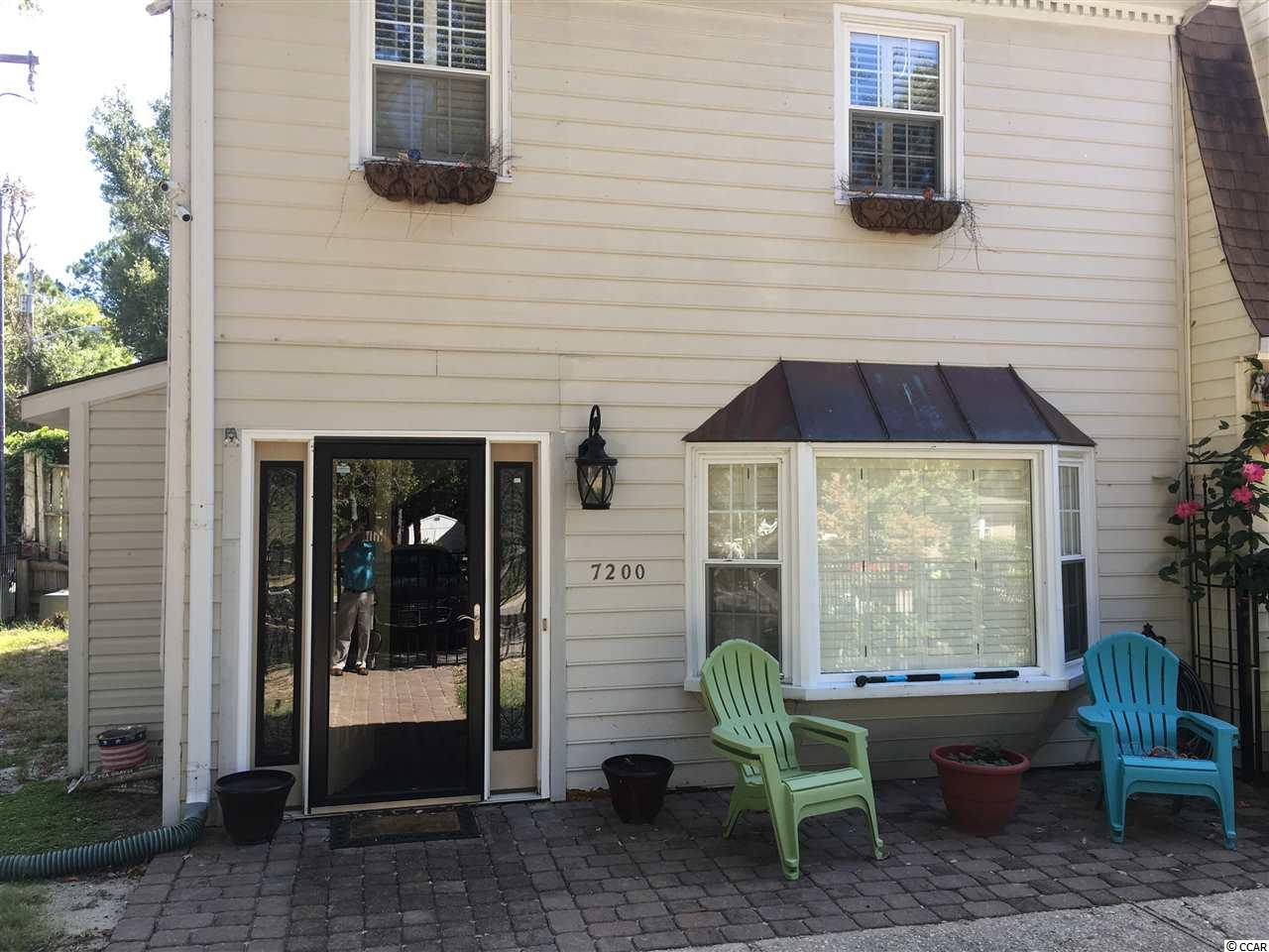 Townhouse MLS:1721545 Not Within a Project/Section Cod  7200 Porcher Dr. Myrtle Beach SC
