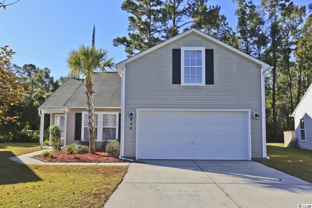 Detached MLS:1722941   649 Oakhurst Drive Myrtle Beach SC