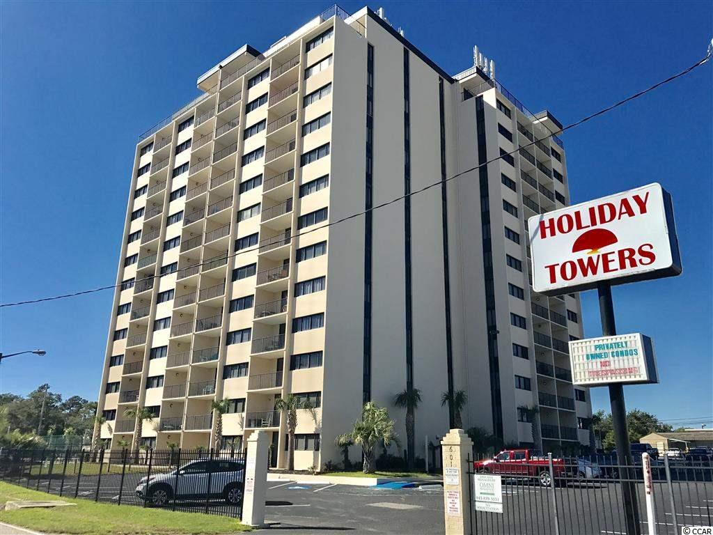 Condo MLS:1722991 Holiday Tower  601 Mitchell St Myrtle Beach SC