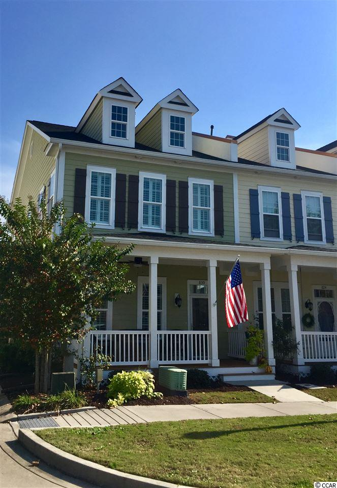 Townhouse for Sale at 830 Shine Avenue 830 Shine Avenue Myrtle Beach, South Carolina 29577 United States