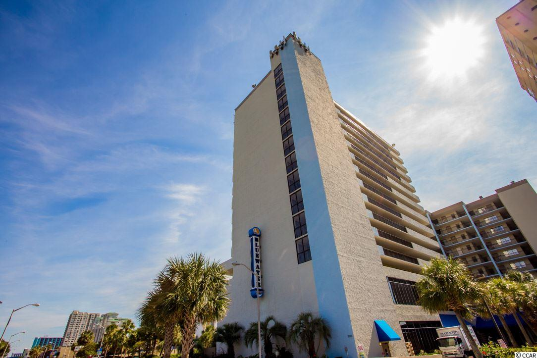 Ocean Front Condo in Bluewater Resort : Myrtle Beach South Carolina