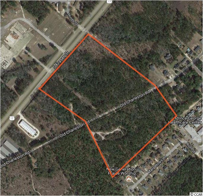 Land for Sale at TBD Highway 17 South & Old Charleston Road TBD Highway 17 South & Old Charleston Road Georgetown, South Carolina 29440 United States