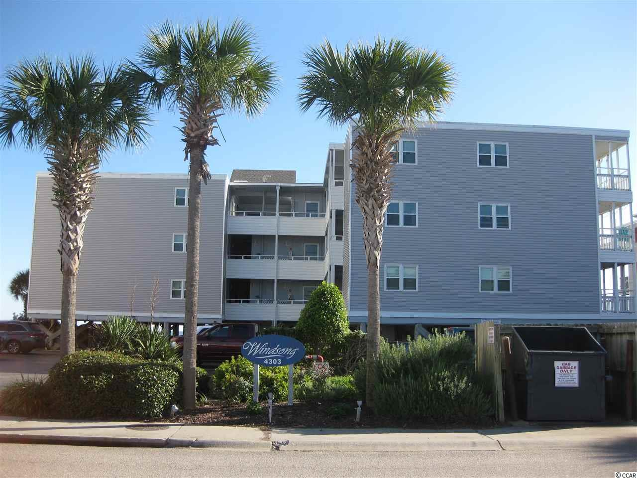 Ocean View,End Unit Condo in WINDSONG : North Myrtle Beach South Carolina
