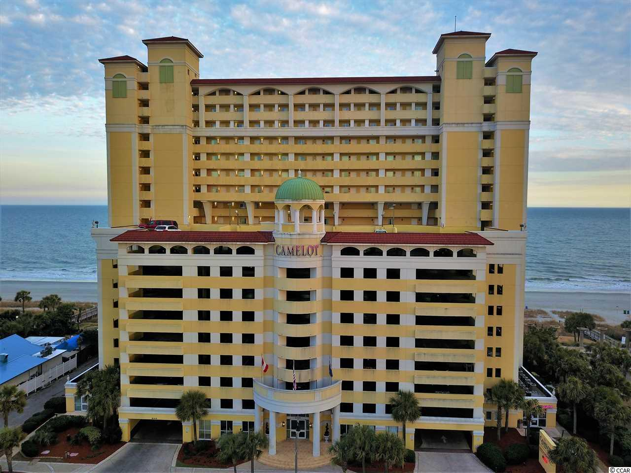 Ocean Front,End Unit Condo in Camelot By The Sea : Myrtle Beach South Carolina