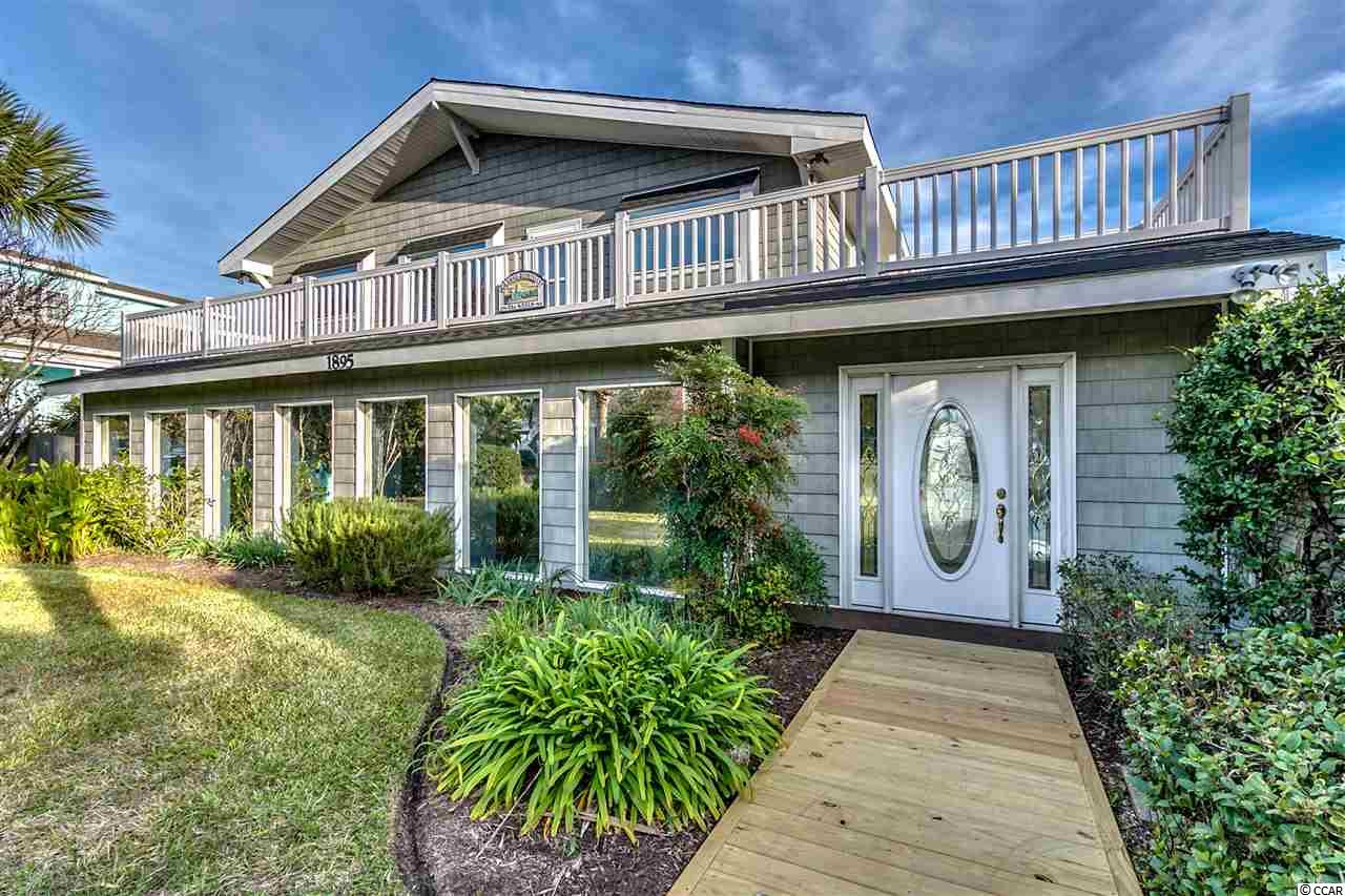 Single Family Home for Sale at 1895 Pompano Drive 1895 Pompano Drive Garden City Beach, South Carolina 29576 United States