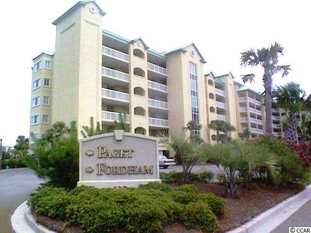 Ocean View,End Unit Condo in PAGET@SOMERSET : Pawleys Island South Carolina